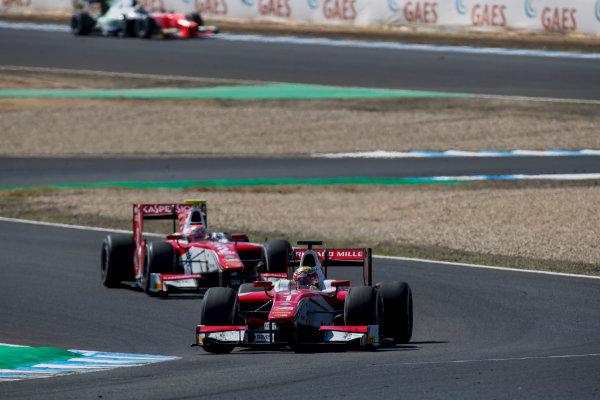 2017 FIA Formula 2 Round 10. Circuito de Jerez, Jerez, Spain. Sunday 8 October 2017. Charles Leclerc (MCO, PREMA Racing).  Photo: Zak Mauger/FIA Formula 2. ref: Digital Image _56I7790