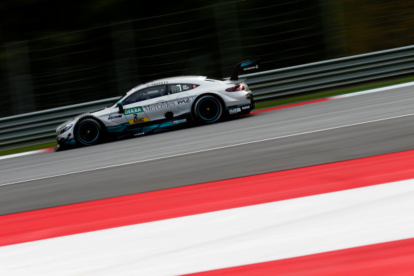 2017 DTM Round 8  Red Bull Ring, Spielberg, Austria  Friday 22 September 2017. Gary Paffett, Mercedes-AMG Team HWA, Mercedes-AMG C63 DTM  World Copyright: Alexander Trienitz/LAT Images ref: Digital Image 2017-DTM-RBR-AT2-0560