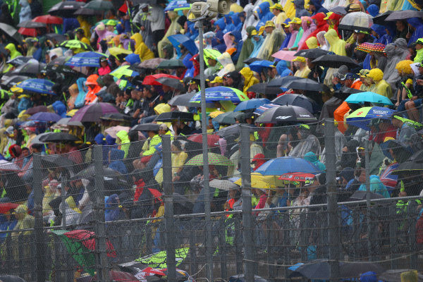 2017 Moto2 Championship - Round 13 Misano, Italy. Sunday 10 September 2017 Crowd World Copyright: Gold and Goose / LAT Images ref: Digital Image 8199