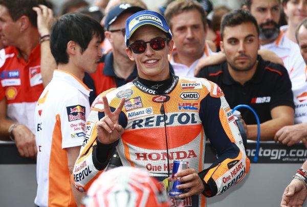 2017 MotoGP Championship - Round 11 Spielberg, Austria Sunday 13 August 2017 Marc Marquez, Repsol Honda Team World Copyright: Gold and Goose / LAT Images ref: Digital Image 687005