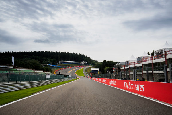 2017 GP3 Series Round 5.  Spa-Francorchamps, Spa, Belgium. Thursday 24 August 2017. A view of the track. Photo: Zak Mauger/GP3 Series Media Service. ref: Digital Image _54I9472
