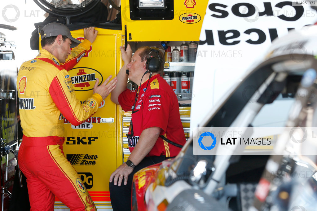 Monster Energy NASCAR Cup Series Federated Auto Parts 400 Richmond Raceway, Richmond, VA USA Friday 8 September 2017 Joey Logano, Team Penske, Shell Pennzoil/Red Cross Ford Fusion World Copyright: Matthew T. Thacker LAT Images