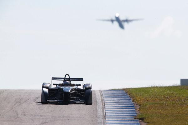 FIA Formula E Test Day, Donington Park, UK.  9th - 10th July 2014.  Jarno Trulli, Trulli GP. Photo: Sam Bloxham/FIA Formula E ref: Digital Image _SBL9155