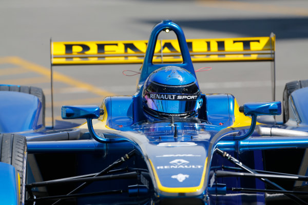 FIA Formula E Test Day, Donington Park, UK.  9th - 10th July 2014.  Nicolas Prost, e.dams. Photo: Adam Warner/FIA Formula E ref: Digital Image _L5R2806