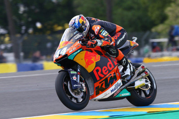 2017 Moto2 Championship - Round 5 Le Mans, France Friday 19 May 2017 Miguel Oliveira, Red Bull KTM Ajo World Copyright: Gold & Goose Photography/LAT Images ref: Digital Image 670557