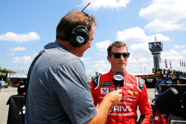 Monster Energy NASCAR Cup Series Toyota Owners 400 Richmond International Raceway, Richmond, VA USA Friday 28 April 2017 Kasey Kahne, Hendrick Motorsports, AARP Drive to End Hunger Chevrolet SS World Copyright: Russell LaBounty LAT Images ref: Digital Image 17RIC1Jrl_0114
