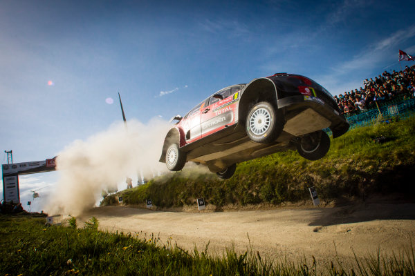2017 FIA World Rally Championship, Round 06, Rally Portugal, May 18 - 21 2017, Stephane Lefebvre, Citroen, action, Worldwide Copyright: McKlein/LAT