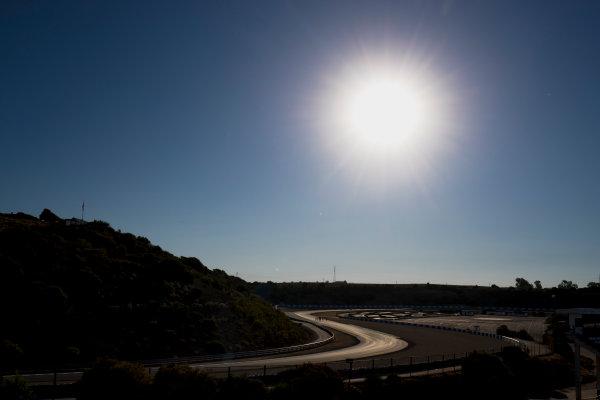2017 FIA Formula 2 Round 10. Circuito de Jerez, Jerez, Spain. Thursday 5 October 2017. A view of the track. Photo: Zak Mauger/FIA Formula 2. ref: Digital Image _56I3767