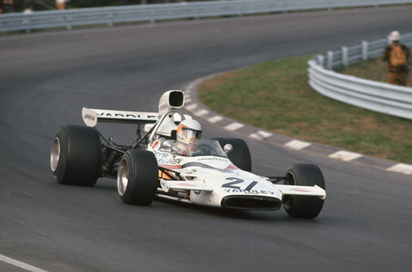 1972 United States Grand Prix.  Watkins Glen, New York, United States. 6-8th October 1972.  Jody Scheckter, McLaren M19A Ford, 9th position.  Ref: 72USA21. World Copyright: LAT Photographic