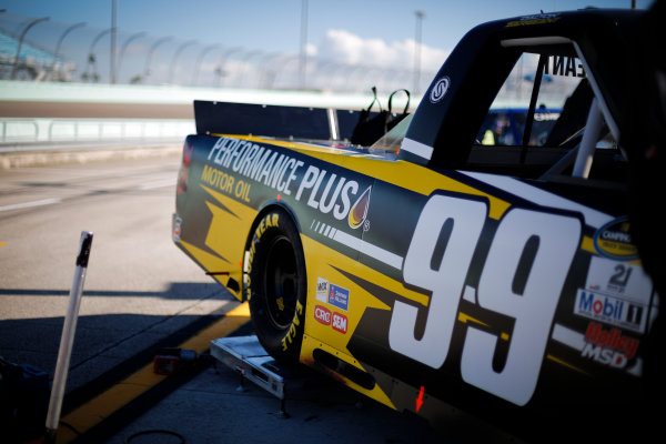 NASCAR Camping World Truck Series Ford EcoBoost 200 Homestead-Miami Speedway, Homestead, FL USA Friday 17 November 2017 Dalton Sargeant, Performance Plus Motor Oil Chevrolet Silverado World Copyright: Barry Cantrell LAT Images