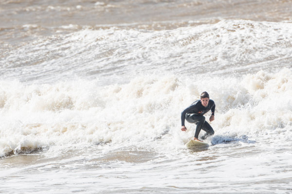 Antonio Felix Da Costa (POR), MS + AD Andretti Formula E, Andretti ATEC-03, goes surfing