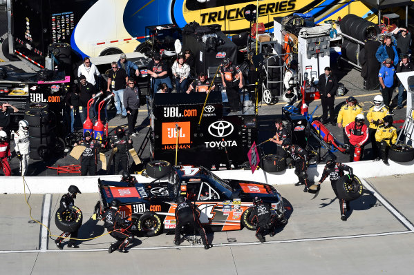 1-2 April, 2016, Martinsville, Virginia USA Christopher Bell (4) makes a pit stop. ?2016, John Harrelson / LAT Photo USA
