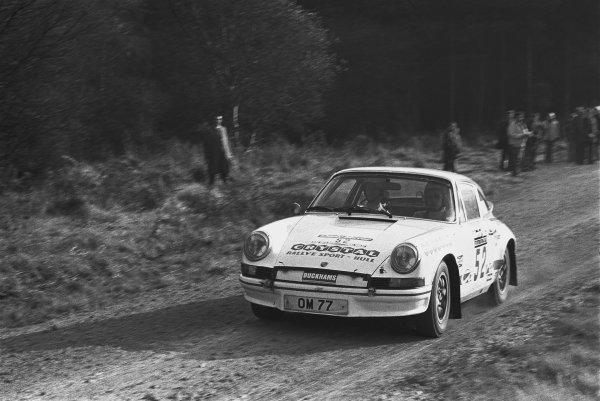 1973 Daily Mirror RAC Rally.