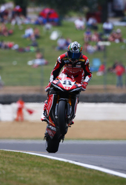 2008 World Superbike Championship  Brands Hatch, England. 1st - 3rd August 2008.  Troy Corser, Yamaha, action. World Copyright: Kevin Wood/LAT Photographic  ref: Digital Image
