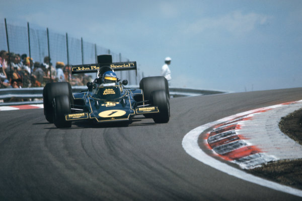 1974 French Grand Prix  Dijon-Prenois, France. 5-7th July 1974.  Ronnie Peterson, Lotus 72E Ford, 1st position.  Ref: 74FRA01. World Copyright: LAT Photographic