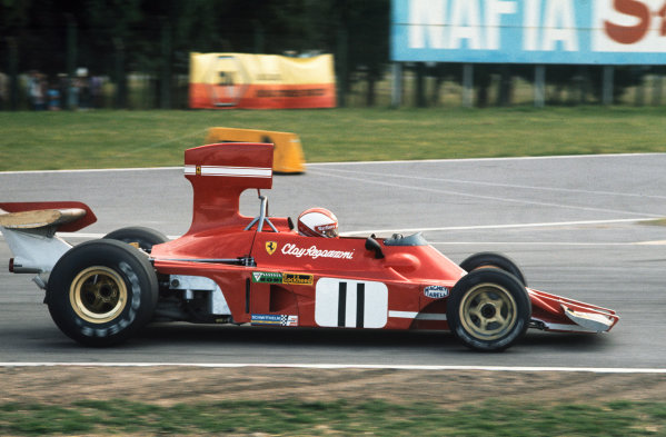 1974 Argentinian Grand Prix  Buenos Aires, Argentina. 11-13th January 1974.  Clay Regazzoni, Ferrari 312B3, 3rd position.  Ref: 74ARG09. World Copyright: LAT Photographic