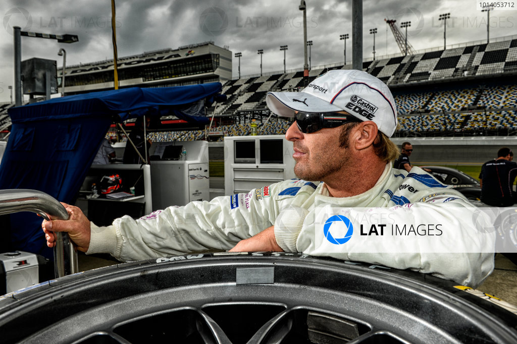 19-20 November, 2013, Daytona Beach, Florida Bill Auberlen, driver of the #55 BMW Team RLL BMW Z4. @2013 Richard Dole LAT Photo USA