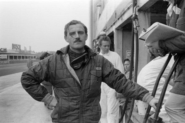 Graham Hill.