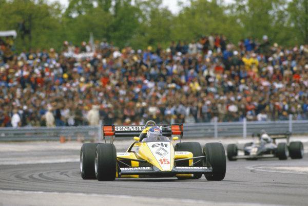 Patrick Tambay, Renault RE50.