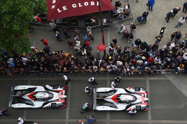 #7 Toyota Gazoo Racing Toyota TS050, #8 Toyota Gazoo Racing Toyota TS050