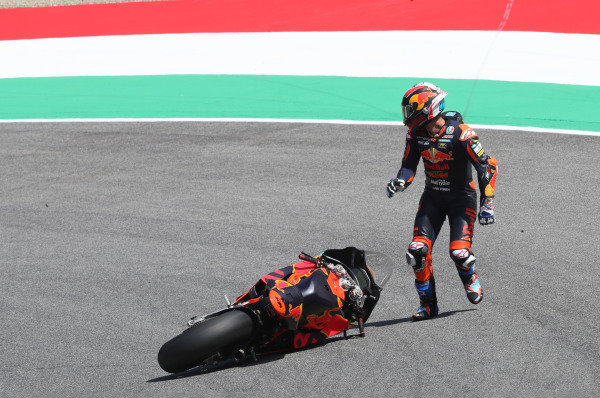 Jorge Martin, KTM Ajo crash.