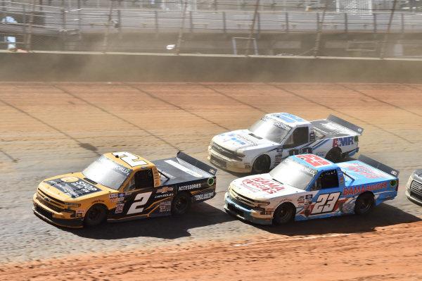 #2: Sheldon Creed, GMS Racing, Chevrolet Silverado Chevy Accessories, #23: Chase Purdy, GMS Racing, Chevrolet Silverado BamaBuggies.com