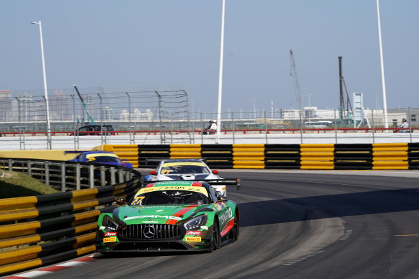 #77 Mercedes-AMG Team Craft Bamboo Racing Mercedes AMG GT3: Edoardo Mortara  .