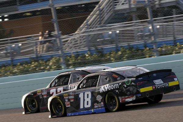#18: Harrison Burton, Joe Gibbs Racing, Toyota Supra iK9