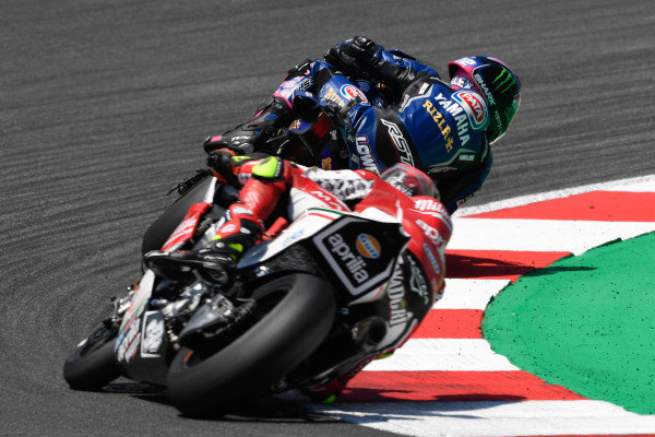 Alex Lowes, Pata Yamaha, Eugene Laverty, Milwaukee Aprilia.