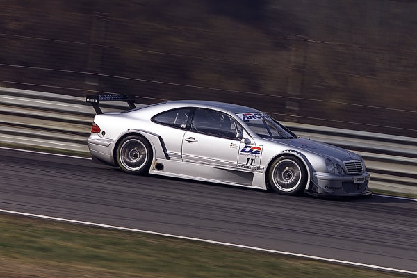 Mercedes-Benz Motorsport tested the new CLK for the German Touring CarMasters (DTM) at Vallelunga, Italy. Drivers Bernd Schneider and Klaus Ludwigfocused on tyre tests, set-up, and the development of the DTM racecarproduction for the season.