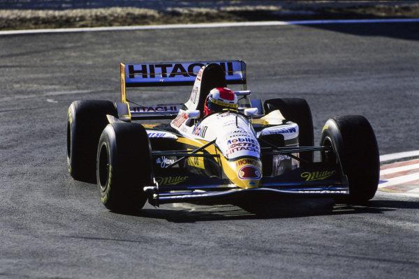 Johnny Herbert, Lotus 109 Mugen-Honda.