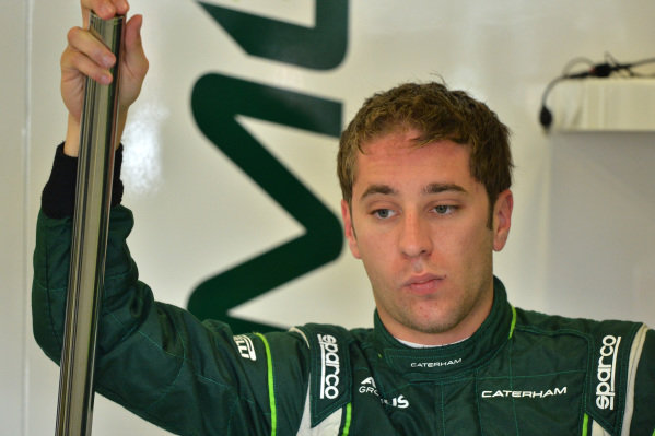 Robin Frijns (NED) Caterham Test and Reserve Driver. Formula One World Championship, Rd9, British Grand Prix, Practice, Silverstone, England, Friday 4 July 2014. BEST IMAGE