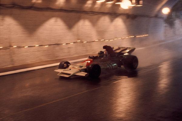 1972 Monaco Grand Prix.Monte Carlo, Monaco.12-14 May 1972.Jean-Pierre Beltoise (BRMP160B) 1st position.Ref-72 MON 17.World Copyright - LAT Photographic