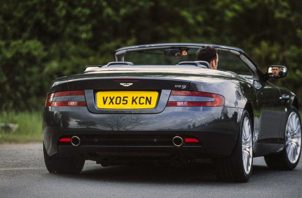 Aston Martin DB9 Volante.