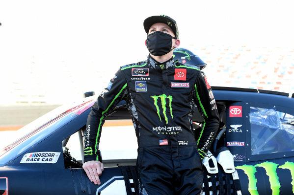 Riley Herbst, Joe Gibbs Racing Toyota Monster Energy, Copyright: Jared C. Tilton/Getty Images.