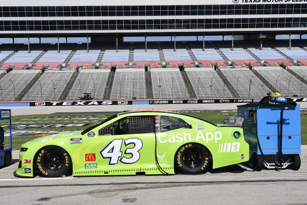 #43: Darrell Wallace Jr., Richard Petty Motorsports, Chevrolet Camaro Cash App