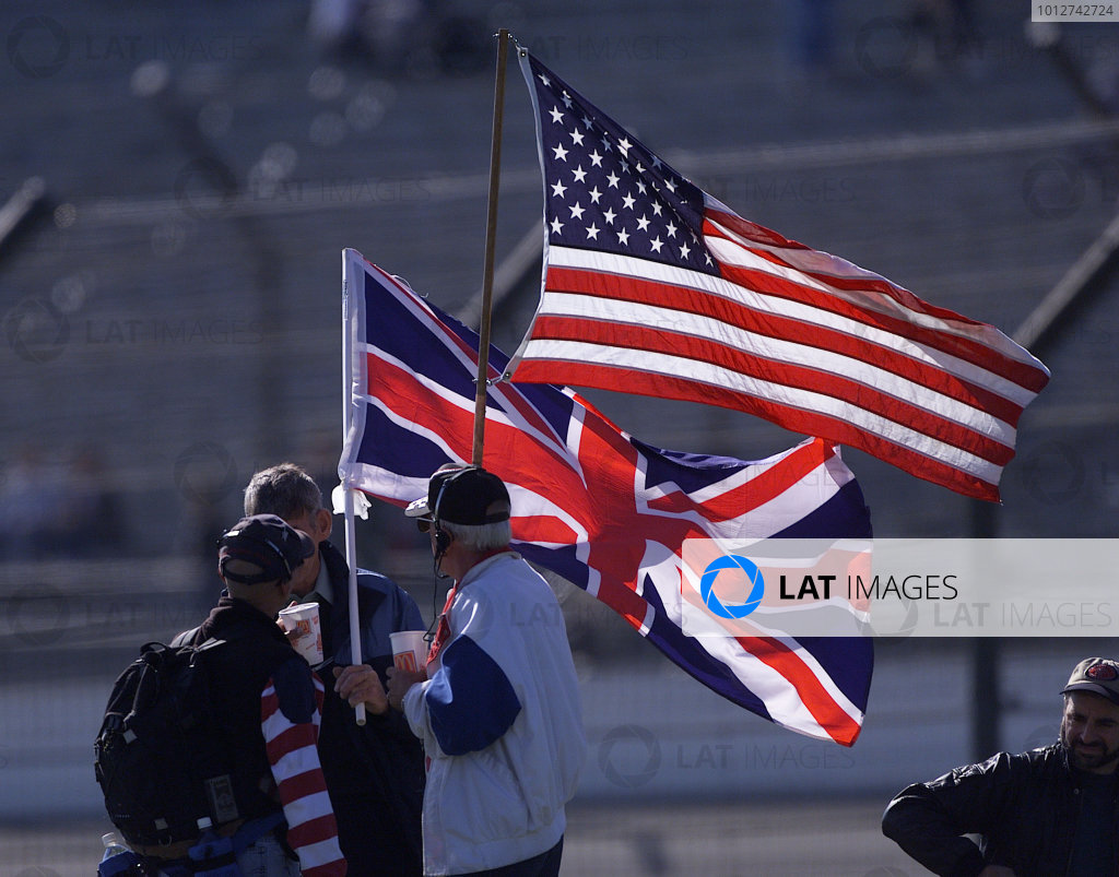 2001 American Grand Prix - Qualifying
