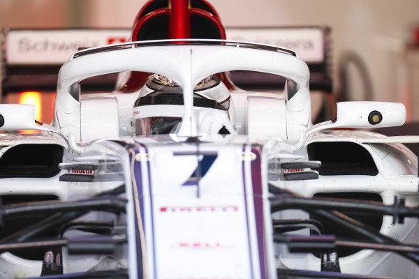 Kimi Raikkonen, Alfa Romeo Sauber C37.