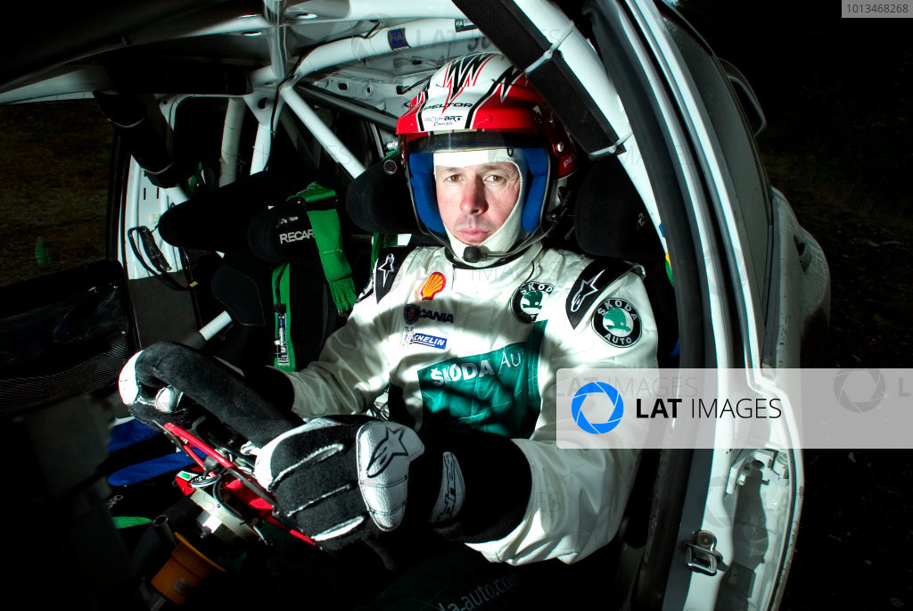 2005 World Rally Championship Testing.