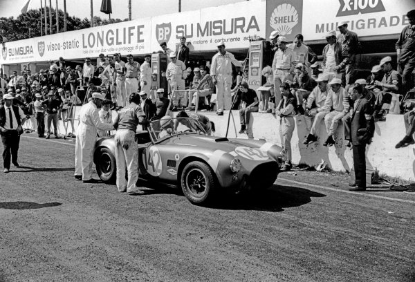 Little Madonie Circuit, Sicily, Italy. 26th April 1964.