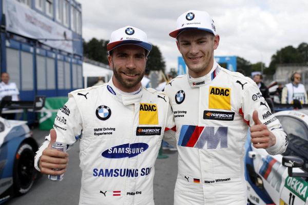 Philipp Eng, BMW Team RBM, Marco Wittmann, BMW Team RMG.