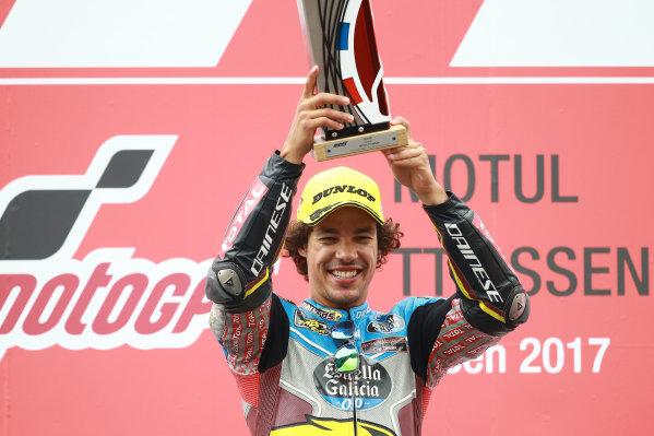 2017 Moto2 Championship - Round 8 Assen, Netherlands Sunday 25 June 2017 Podium: Race winner Franco Morbidelli, Marc VDS World Copyright: David Goldman/LAT Images ref: Digital Image 680210