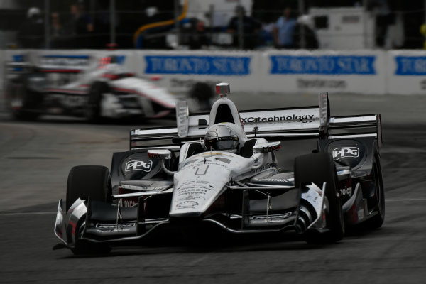 Verizon IndyCar Series Honda Indy Toronto Toronto, ON CAN Sunday 16 July 2017 Simon Pagenaud,  Team Penske Chevrolet World Copyright: Scott R LePage LAT Images ref: Digital Image lepage-170716-to-4629