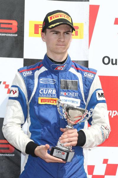 2016 BRDC F3 Championship  Oulton Park, Cheshire, 28th-30th May 2016, Colton Herta (USA) Carlin BRDC F3  World Copyright.Ebrey/LAT Photographic