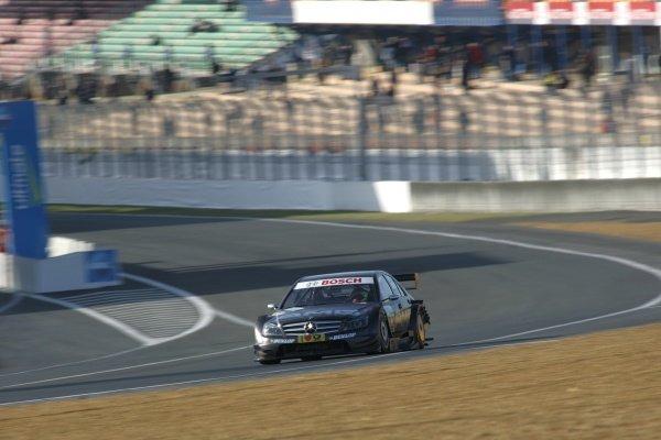Paul di Resta (GBR) AMG Mercedes C-Klasse (2008).DTM, Rd10, Le Mans Bugatti Circuit, Le Mans, France, 3-5 October 2008.