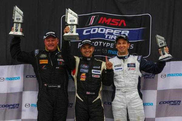 30 September - 2 October, 2015, Braselton, Georgia USA IMSA Lites, Race 2, L2 Podium ?2015, Jake Galstad LAT Photo USA
