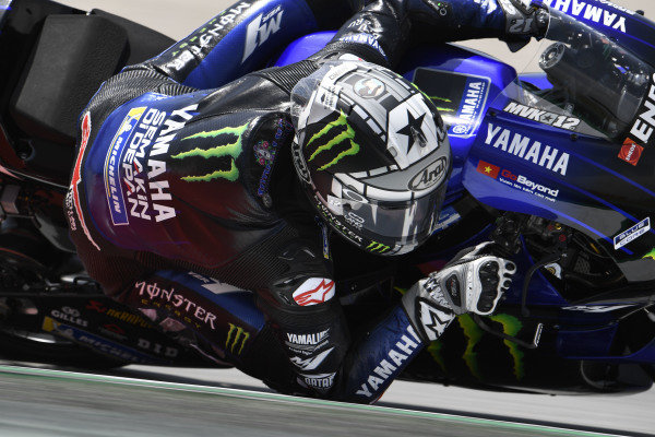 Maverick Vinales, Yamaha Factory Racing.