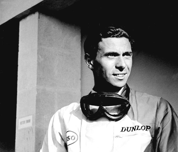 1965 Italian Grand Prix. Monza, Italy. 10th - 12th September 1965. Jim Clark (Lotus33 -Climax), retired, portrait. World Copyright: LAT Photographic. Ref: 28649.