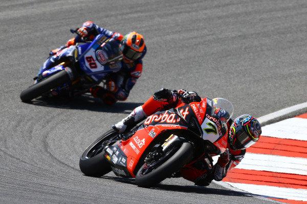 Chaz Davies, Aruba.it Racing-Ducati Team, Michael van der Mark, Pata Yamaha.