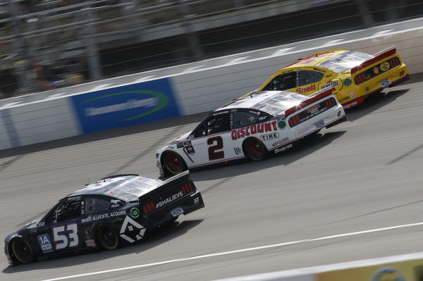 #2: Brad Keselowski, Team Penske, Ford Mustang Discount Tire #22: Joey Logano, Team Penske, Ford Mustang Shell Pennzoil